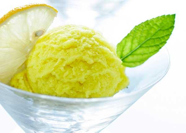 Лимонное мороженое джелато рецепт