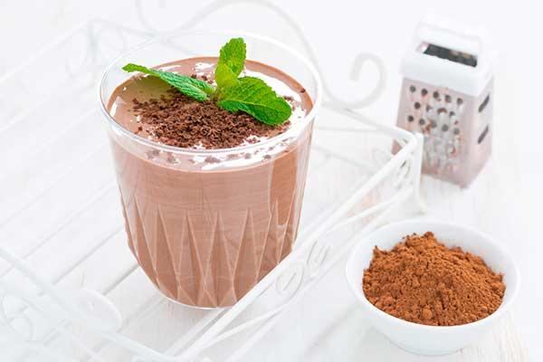 Классический шоколадный молочный коктейль рецепт