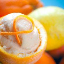 Как сделать вкуснейшее кисломолочное апельсиновое мороженое?