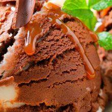 Как сделать удивительное шоколадное мороженое в домашних условиях?
