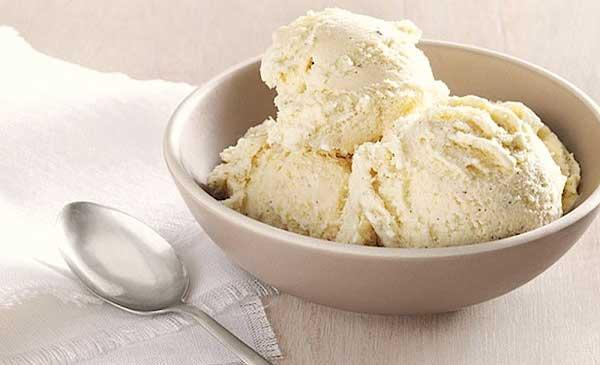 Диетическое мороженое с гуаровой камедью