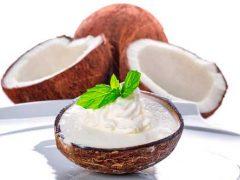 Делаем натуральное домашнее кокосовое мороженое