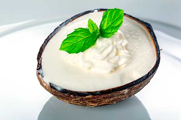 Кокосовое мороженое баунти