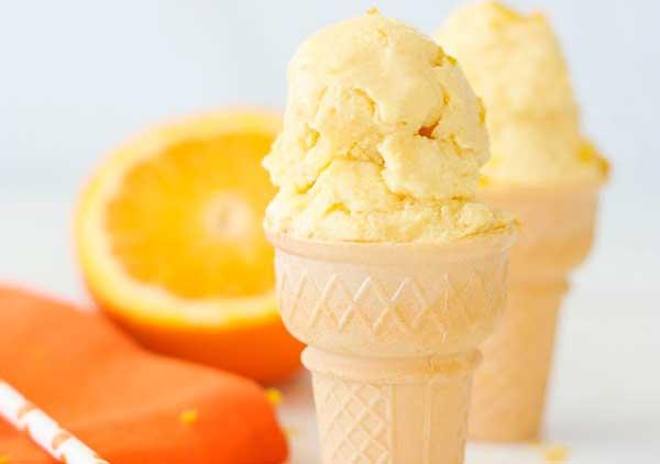 Мороженое после удаления миндалин