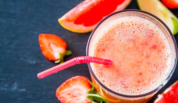 Рецепт смузи из грейпфрута мандарина абрикоса и клубники