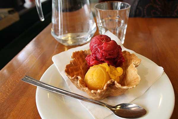Вкусное мороженое Бертийон