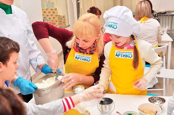 Дегустация мороженого в музее Артико Киров
