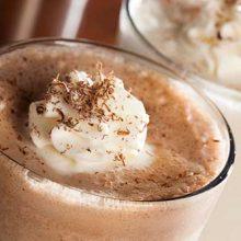 Рецепты молочных кофейных коктейлей с мороженым