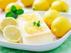 Классический лимонный сорбет в домашних условиях