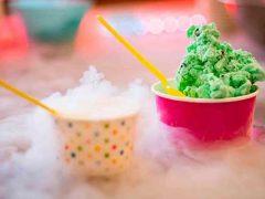 Как приготовить азотное мороженое за пару минут?