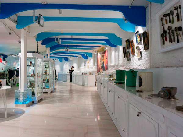Музей мороженого Артико внутри