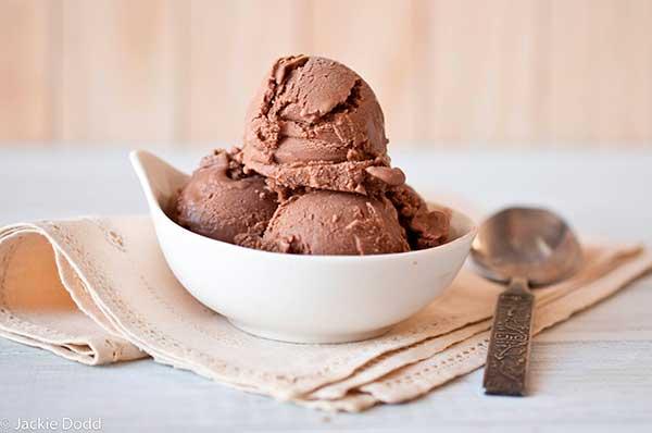 Сливочно-кофейное мороженое
