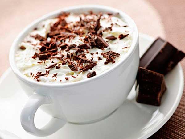 Тыквенный кофе с молоком