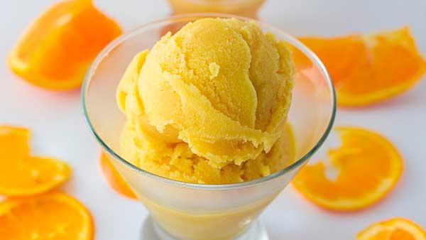 Классический рецепт щербета из апельсинов