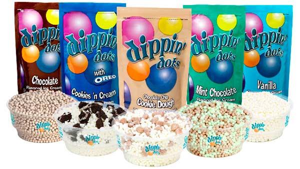 Мороженое шариками ассортимент