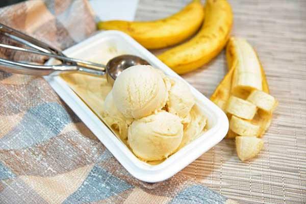 Рецепт бананового сорбета с молоком