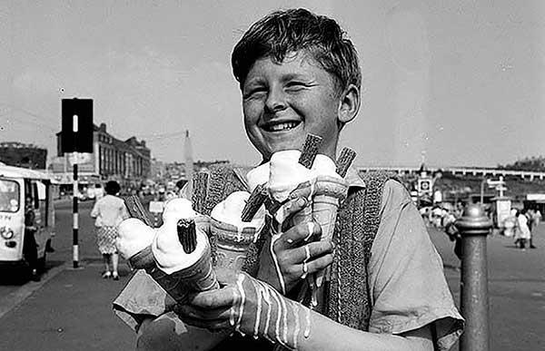 Первое мороженое в СССР