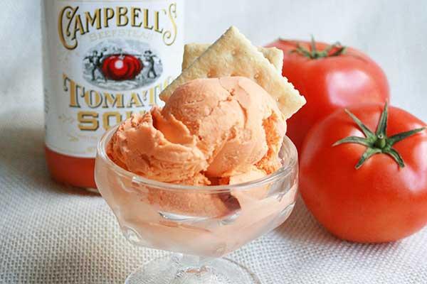Рецепт мороженого из помидоров