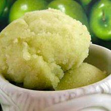 Яблочный сорбет — десерт с пользой для здоровья!