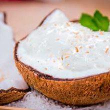 Безумно вкусный кокосовый сорбет